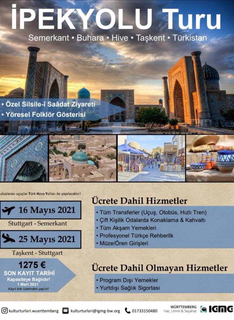 Özbekistan 2021